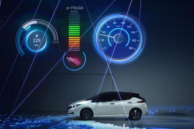 En dévoilant la nouvelle génération de sa Leaf, début septembre, Nissan a...