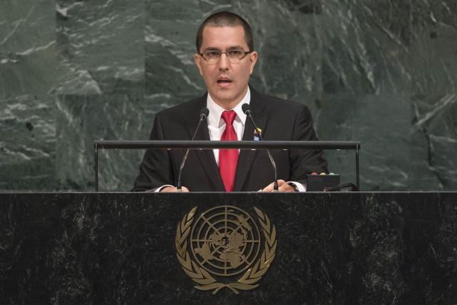 Jorge Arreaza... (Photo AP)