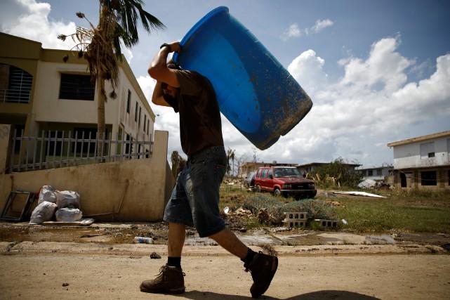 «Porto Rico est absolument anéanti», avait lancé jeudi... (PHOTO REUTERS)