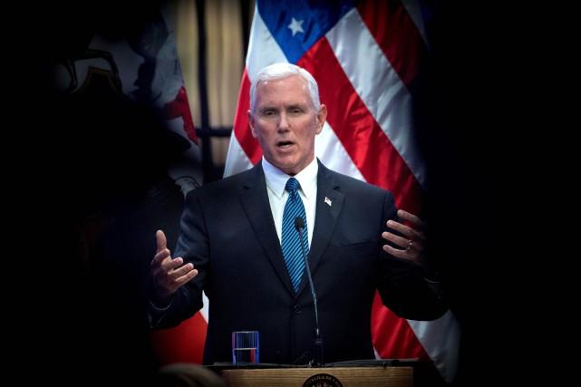 Le vice-président américain a prévenu que si la... (ARCHIVES AFP)
