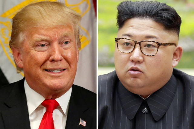 Donald Trump et Kim Jong-Un.... (Photo archives REUTERS)