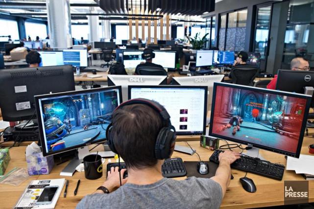 Les jeux mobiles du studio Behaviour ont attiré... (Photo archives La Presse)