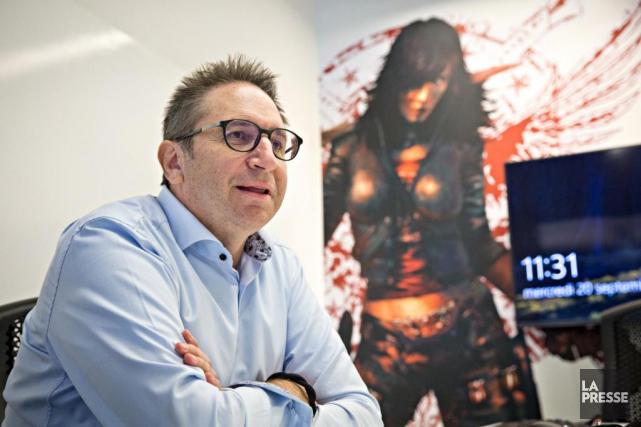 Rémi Racine, PDG de Behaviour... (Photo Patrick Sanfaçon, La Presse)
