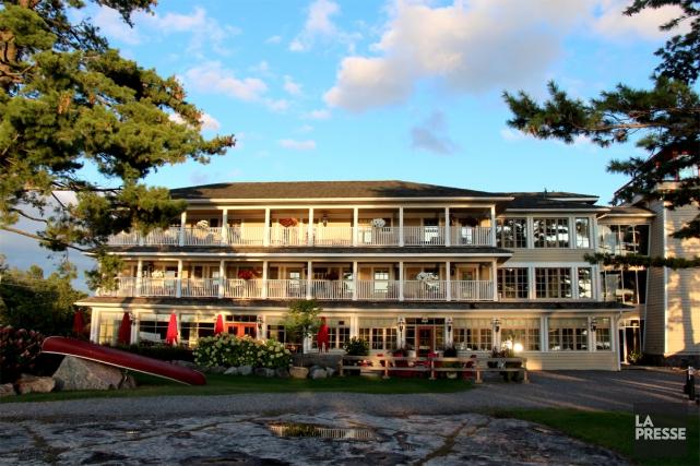 Le Rawley Resort est l'un des plus récents... (Photo Violaine Ballivy, La Presse)