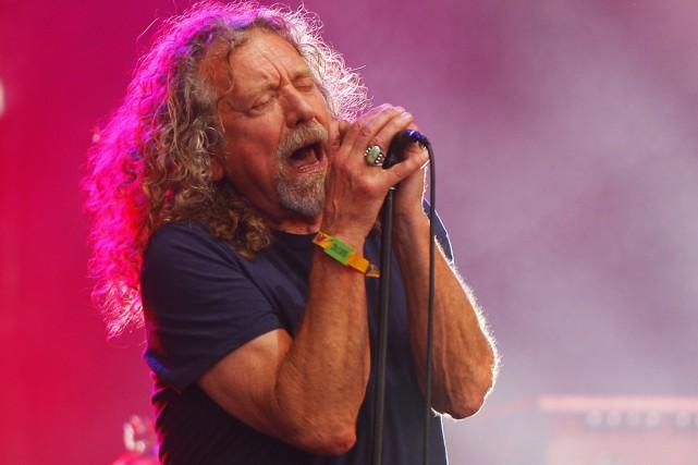 Robert Plant effectuera l'an prochain une tournée nord-américaine en appui à... (PHOTO ARCHIVES AP)