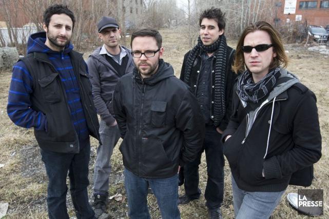Le groupe Karkwa en 2010.... (PHOTO ROBERT SKINNER, ARCHIVES LA PRESSE)