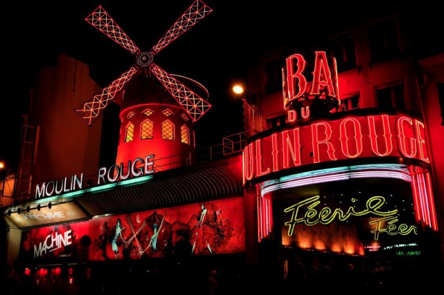 Le Moulin Rouge... (Photos collaboration spéciale g.habas)