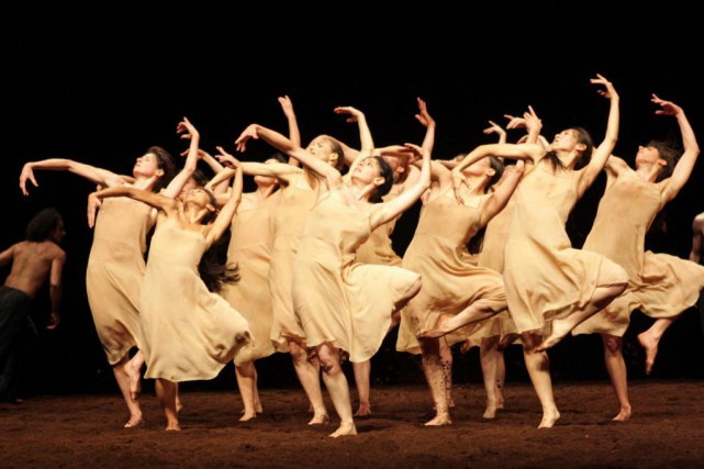 Le sacre du printemps de Pina Bausch... (photo fournie par le Centre national des arts)