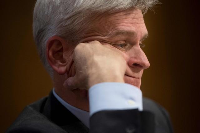 Un des deux coauteurs du projet de loi... (PHOTO AFP)