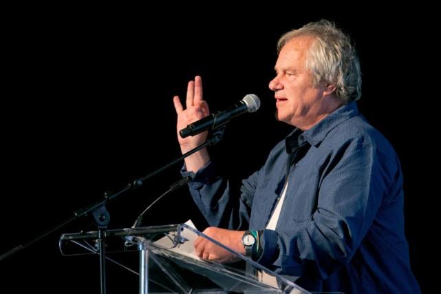 Claude Chamberlan, lors d'une conférence de presse du... (PHOTO HUGO-SÉBASTIEN AUBERT, ARCHIVES LA PRESSE)