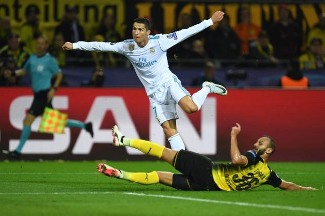 Cristiano Ronaldo a inscrit deux buts dans la... (AFP)