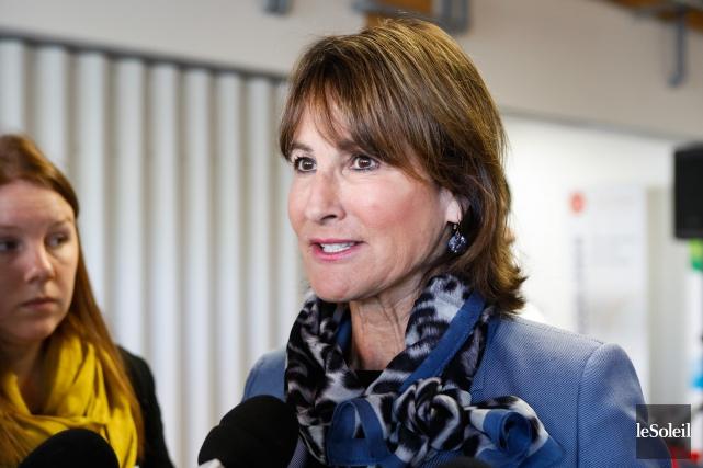 La ministre de l'Immigration, Kathleen Weil.... (Photothèque Le Soleil)