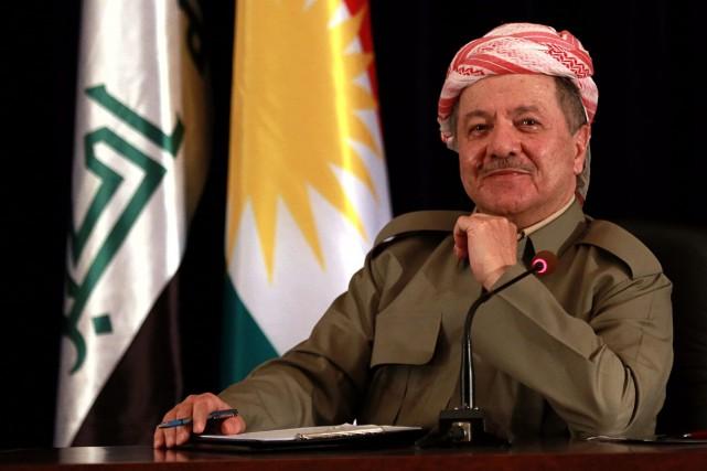 Le président de la région autonome irakienne du... (Photo Khalid Mohammed, AP)
