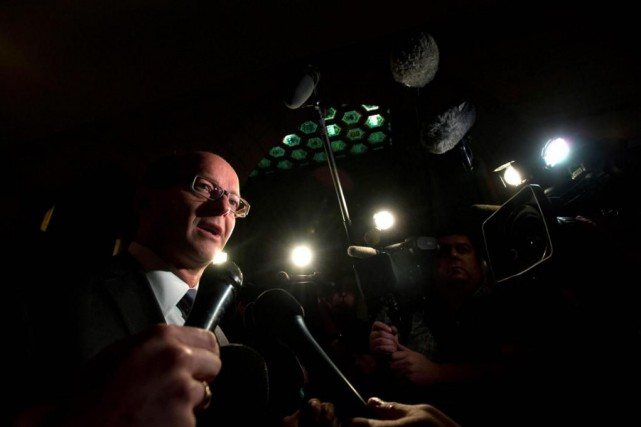 Le sénateur conservateurClaude Carignan est à l'origine du... (PhotoSean Kilpatrick, Archives La Presse canadienne)