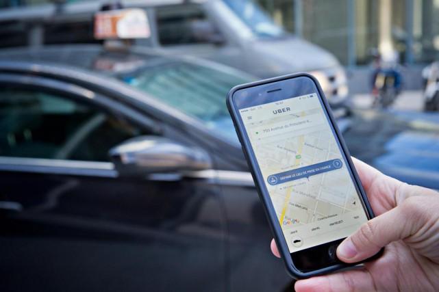 «Si Uber veut s'en aller, qu'il s'en aille!»,... (Photo Patrick Sanfaçon, Archives La Presse)