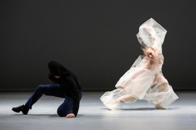 Les interprètes Sébastien Cossette-Masse et Megan Walbaum de... (Photo Nicolas Ruel, fournie par Danse Danse)