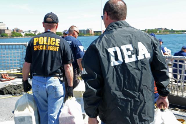 L'agence antidrogue américaine est en première ligne pour... (ARCHIVES AFP)