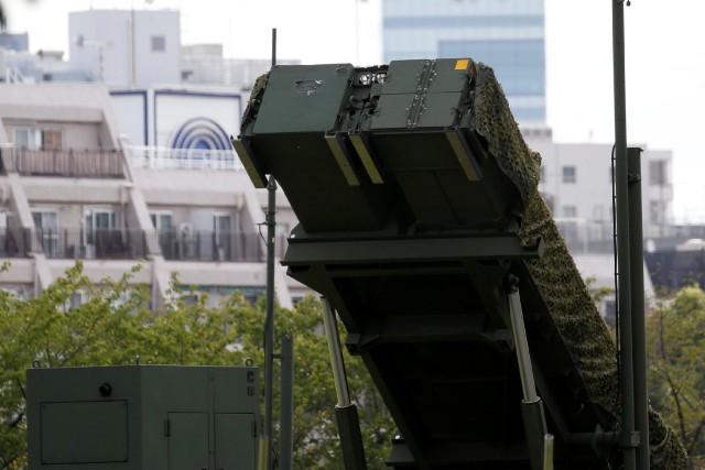 Un système Patriot installé à Tokyo.... (ARCHIVES REUTERS)