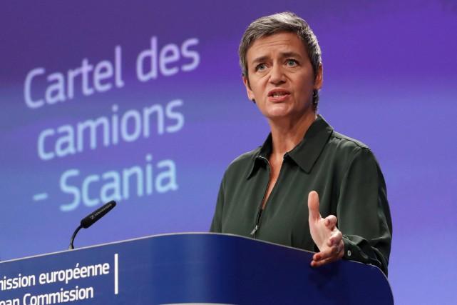 Amendes coup de poing - La commissaire à... (photo : REUTERS)