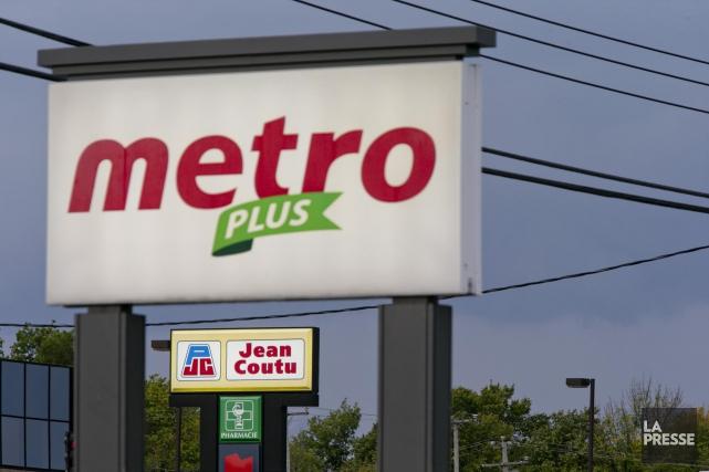 Metro s'est potentiellement trouvé un ami chez Groupe Jean Coutu, l'épicier... (PHOTO DAVID BOILY, LA PRESSE)