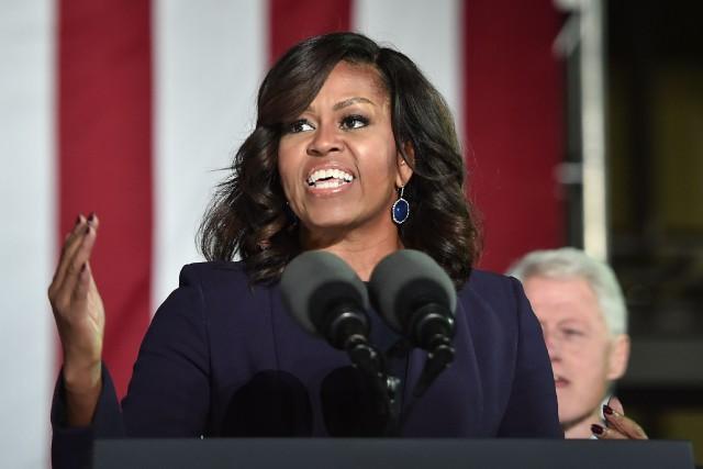 Michelle Obama a entre autres critiqué la tentative... (PHOTO NICHOLAS KAMM, ARCHIVES AFP)