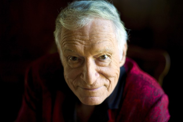 Hugh Hefner en 2011... (PHOTO Kristian Dowling, ARCHIVES AP)