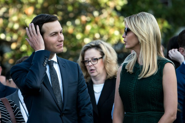 Jared Kushner et son épouse Ivanka Trump.... (AFP)