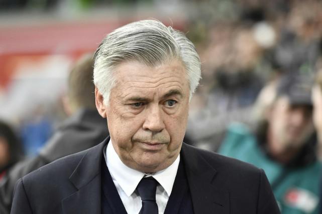 Carlo Ancelotti... (Photo John MacDougall, AFP)