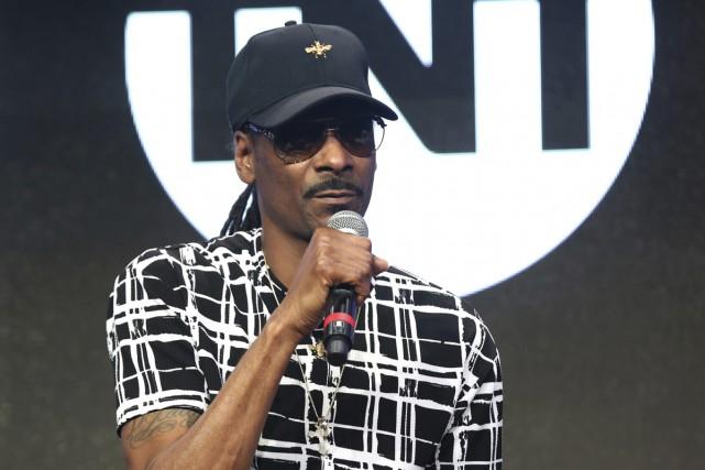 Le rappeur Snoop Dogg investit dans une autre... (PHOTO ARCHIVES AP)