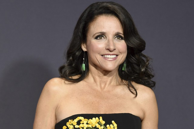 Julia Louis-Dreyfus aux Emmy Awards le 17 septembre... (PHOTO AP)