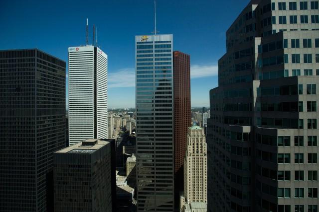 C'est la première fois que Toronto apparaît au... (Photo Brent Lewin, Archives Bloomberg)