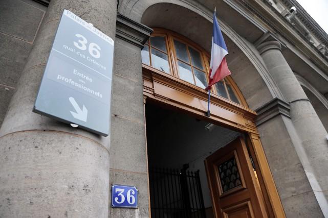 Le 36, quai des Orfèvres, est le siège... (ARCHIVES AFP)