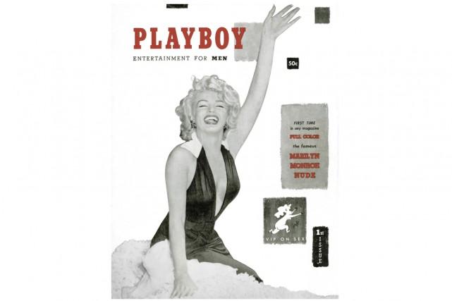 Marilyn Monroe avaitfait la première couverture dePlayboyen1953.... (PHOTO FOURNIE PAR PLAYBOY, ASSOCIATED PRESS)