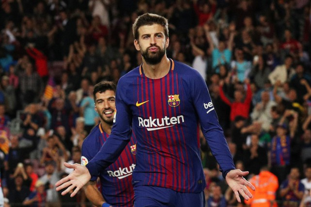 Gerard Piqué... (PHOTO REUTERS)