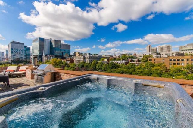 Montréal se positionne de plus en plus comme un pôle de l'«immobilier de luxe»,... (Photo fournie par Sotheby's International Realty Québec)