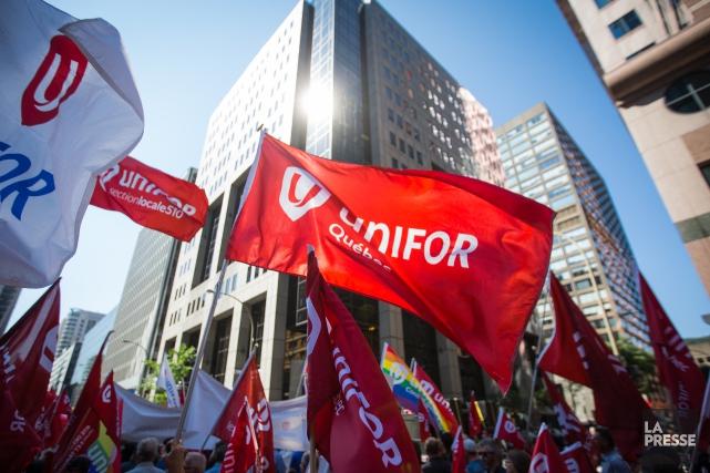 Unifor représente 5000 travailleurs de l'aérospatiale.... (Photo archives La Presse)