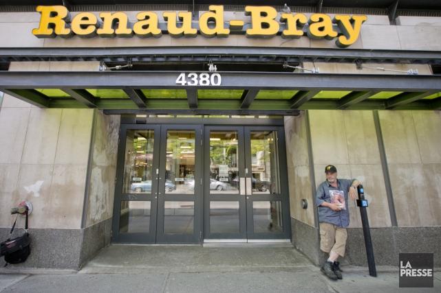 L'important réseau de librairies Renaud-Bray annonce vendredi l'acquisition de... (Photo David Boily, archives La Presse)