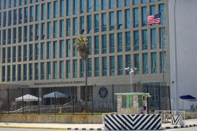 L'ambassade américaine à Cuba.... (REUTERS)