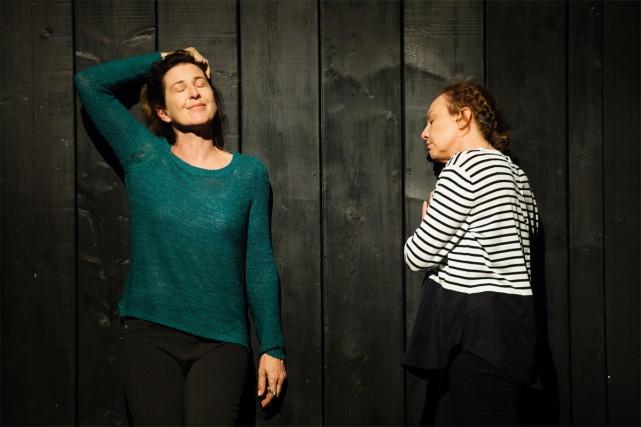 Marie-France Lambert et Macha Limonchik dans la production... (Photo fournie par le Groupe La Veillée)