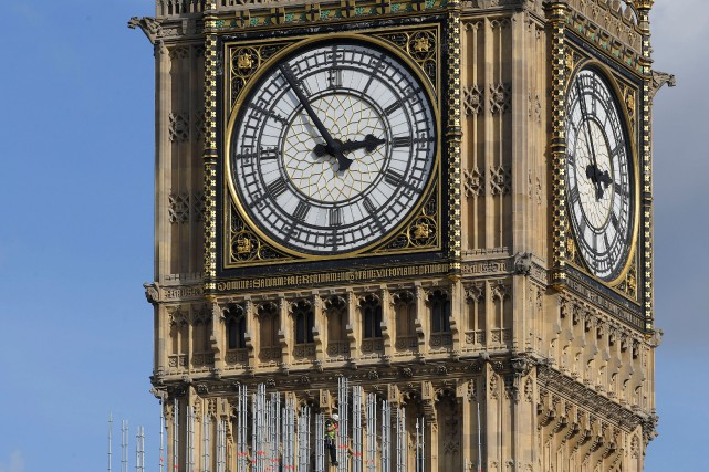 La cloche de Big Ben, en fonctionnement depuis... (Photo Toby Melville, archives Reuters)