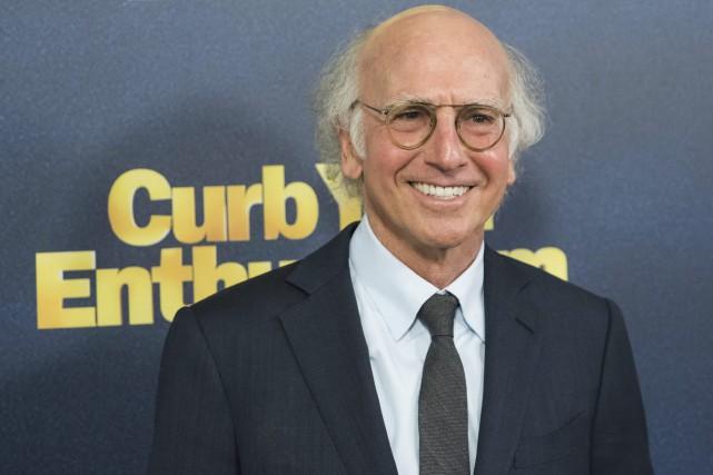 La comédie de Larry David (photo), qui sévit... (Photo Charles Sykes, Associated Press)