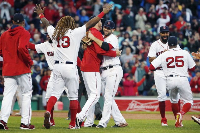 Les Red Sox de Boston se sont assurés du titre de la section Est de la Ligue... (PHOTO AP)