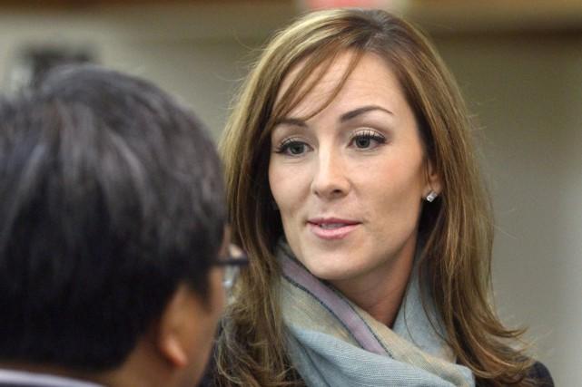 Amanda Lindhout en 2010.... (Photo Larry MacDougal, Archives La Presse canadienne)