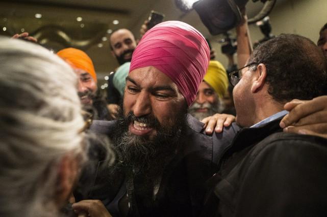 La candidature deJagmeet Singh ne fait pas l'unanimité... (PHOTO PC)