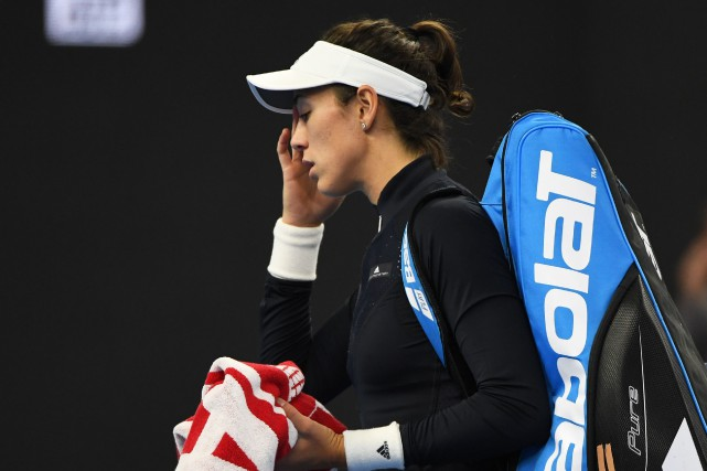 Garbine Muguruza... (Photo Greg Baker, AFP)