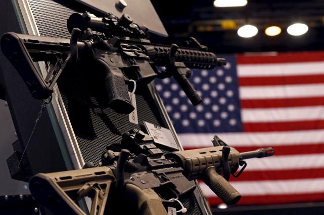 La fusillade de Las Vegas, la plus meurtrière de l'histoire moderne des... (Photo Jim Young, archives REUTERS)