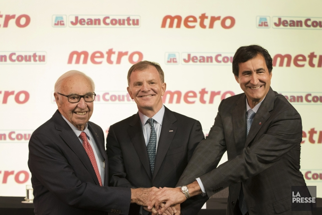 Jean Coutu, président du conseil d'administration de Jean... (Photo Ivanhoh Demers, La Presse)