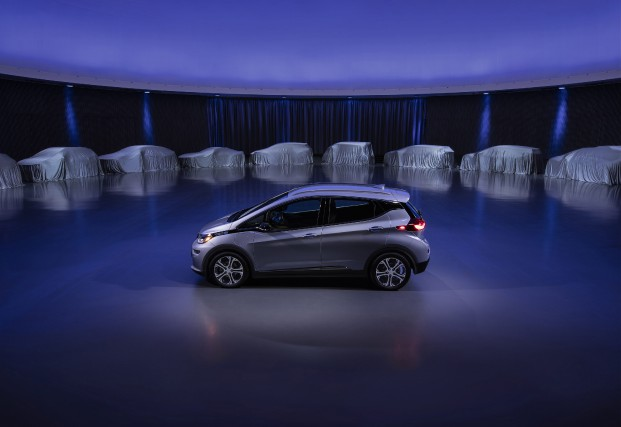 Cette photo diffusée par GM montre une Chevrolet... (Photo : General Motors)