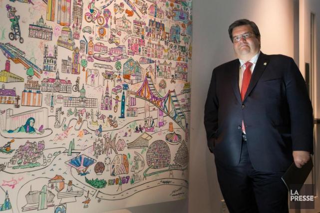Le maire sortant Denis Coderre a indiqué hierqu'il... (PHOTO IVANOH DEMERS, LA PRESSE)