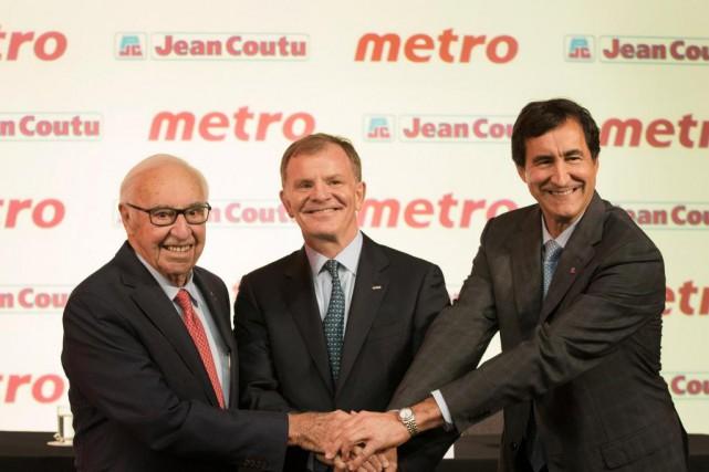 Jean et François J. Coutu, de Groupe Jean... (PHOTO IVANOH DEMERS, LA PRESSE)